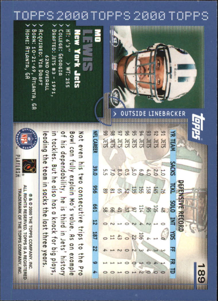 2000-Topps-Football-Base-Singles-3-299-Pick-Your-Cards thumbnail 257
