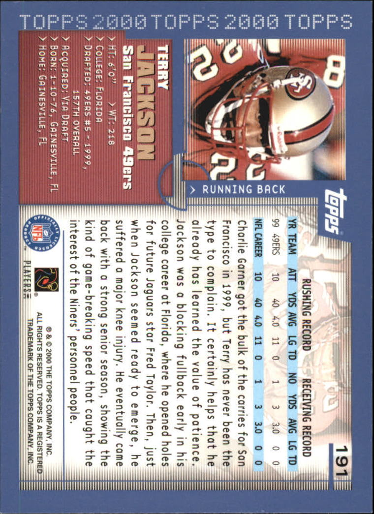 2000-Topps-Football-Base-Singles-3-299-Pick-Your-Cards thumbnail 259