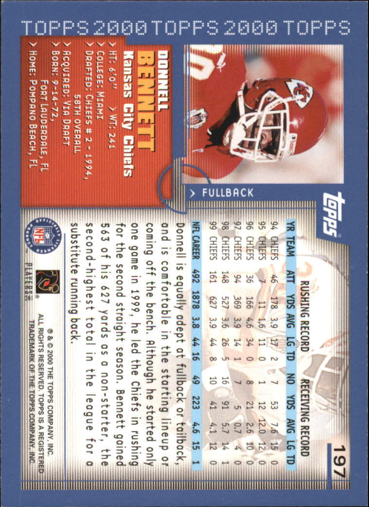 2000-Topps-Football-Base-Singles-3-299-Pick-Your-Cards thumbnail 269