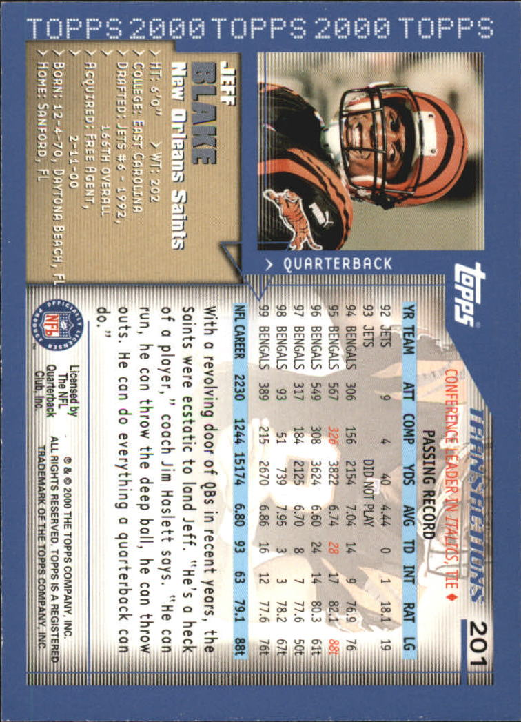 2000-Topps-Football-Base-Singles-3-299-Pick-Your-Cards thumbnail 273