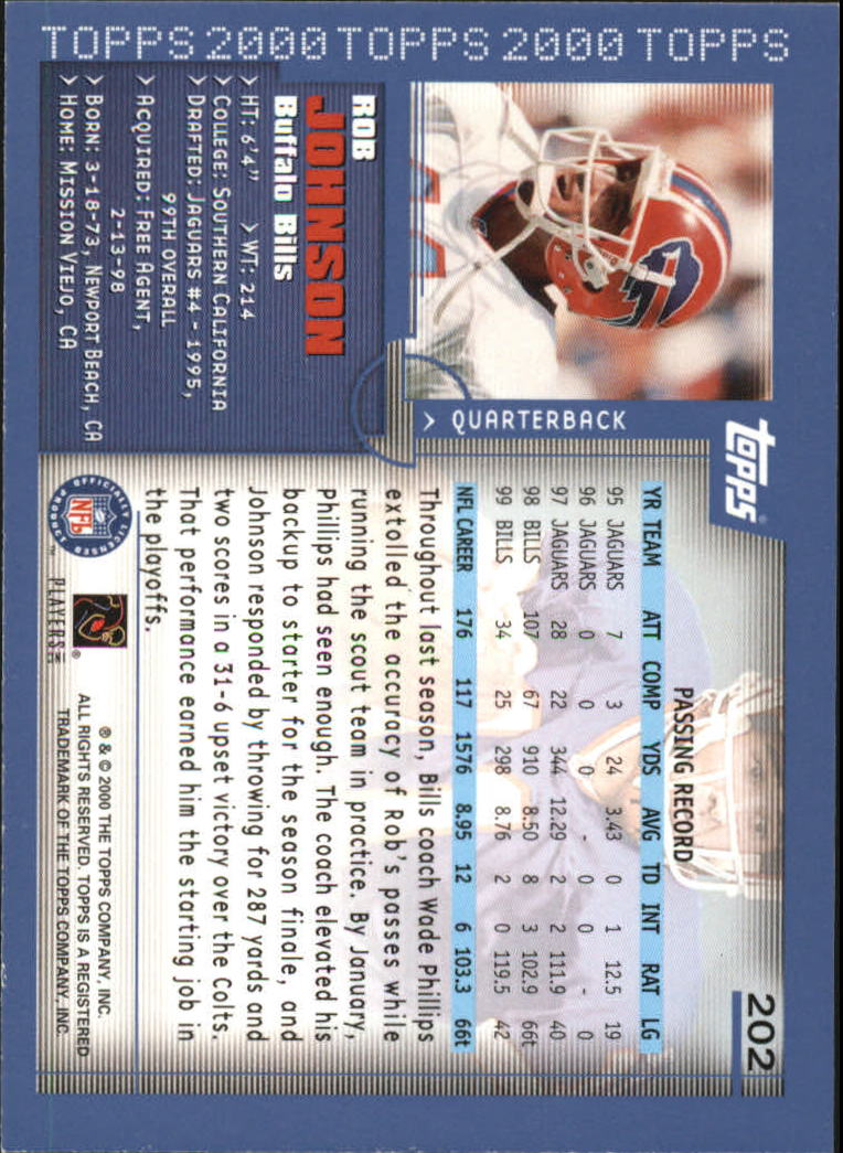 2000-Topps-Football-Base-Singles-3-299-Pick-Your-Cards thumbnail 275