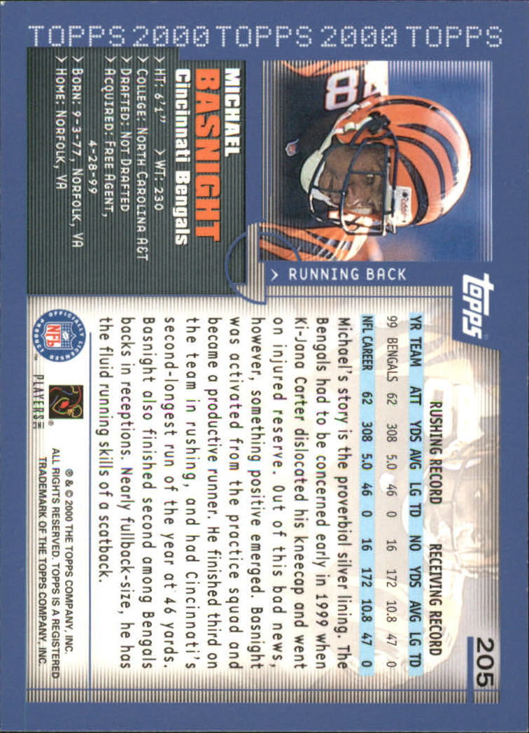 2000-Topps-Football-Base-Singles-3-299-Pick-Your-Cards thumbnail 281