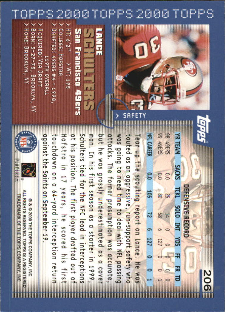 2000-Topps-Football-Base-Singles-3-299-Pick-Your-Cards thumbnail 283
