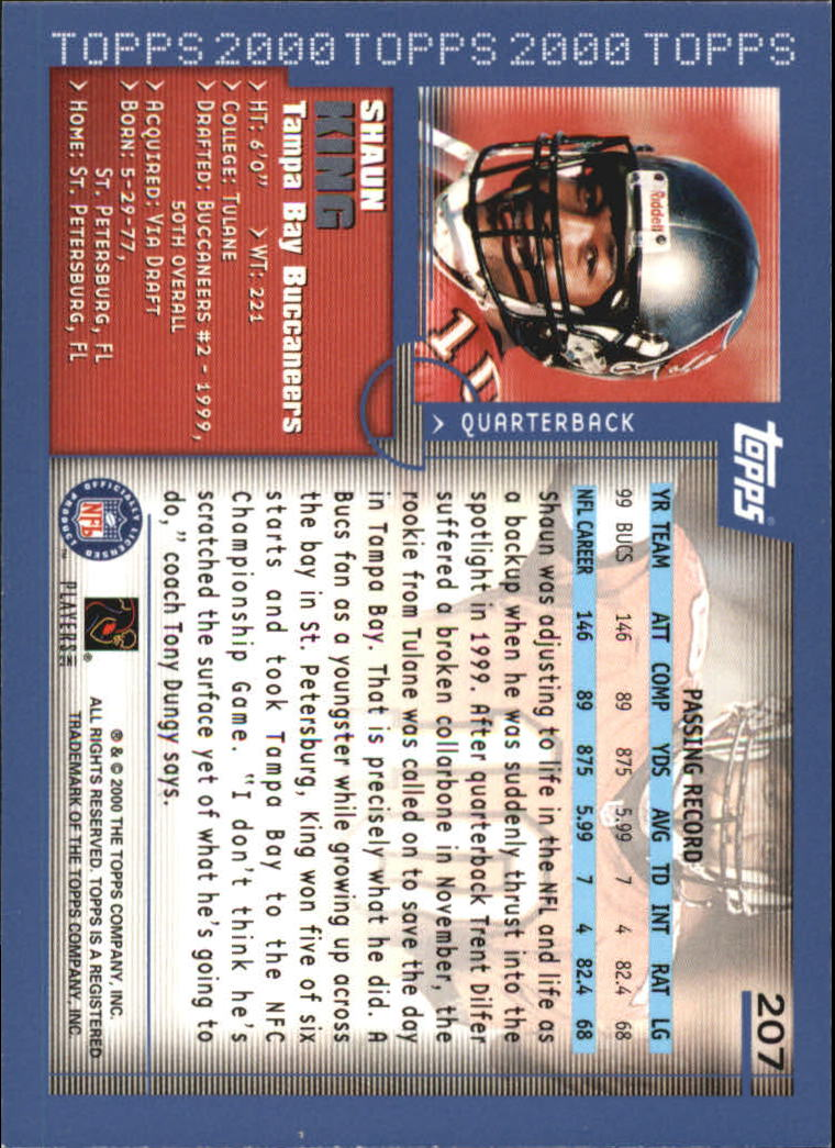 2000-Topps-Football-Base-Singles-3-299-Pick-Your-Cards thumbnail 285