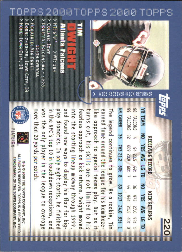 2000-Topps-Football-Base-Singles-3-299-Pick-Your-Cards thumbnail 301