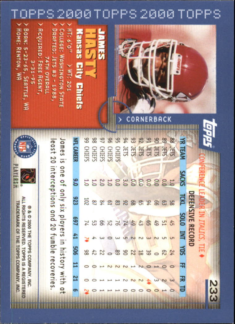 2000-Topps-Football-Base-Singles-3-299-Pick-Your-Cards thumbnail 323