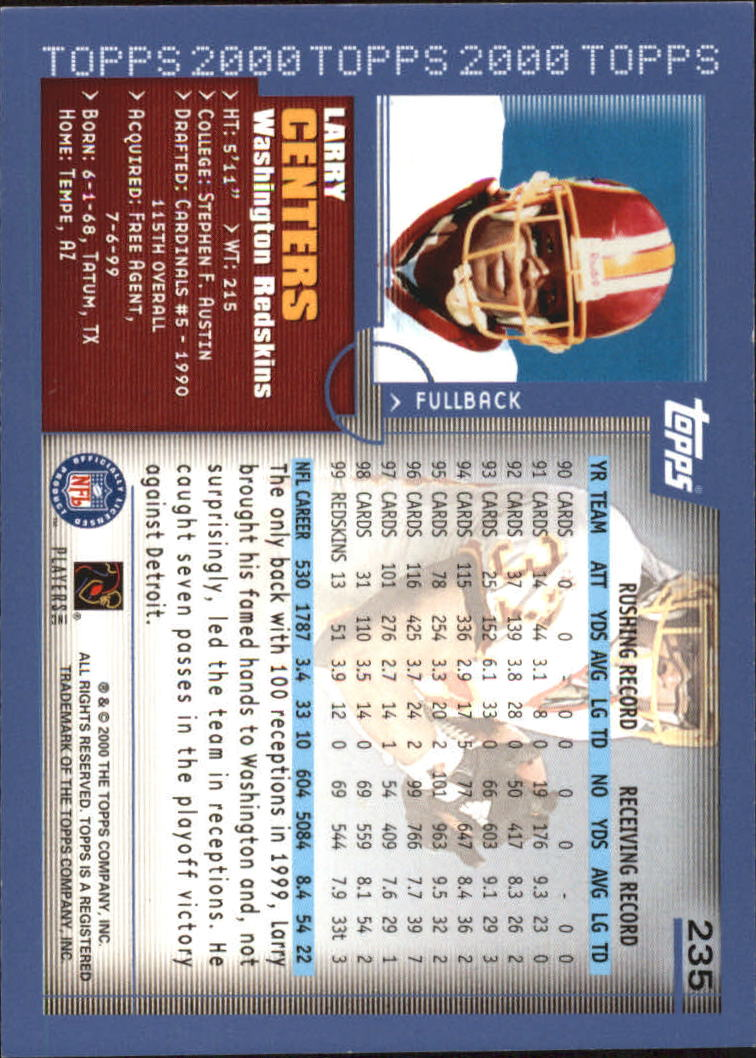 2000-Topps-Football-Base-Singles-3-299-Pick-Your-Cards thumbnail 325