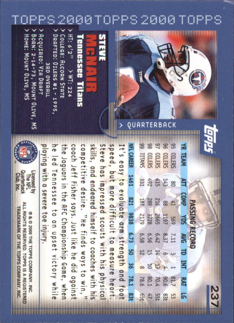 2000-Topps-Football-Base-Singles-3-299-Pick-Your-Cards thumbnail 327