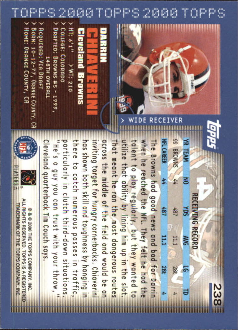 2000-Topps-Football-Base-Singles-3-299-Pick-Your-Cards thumbnail 329