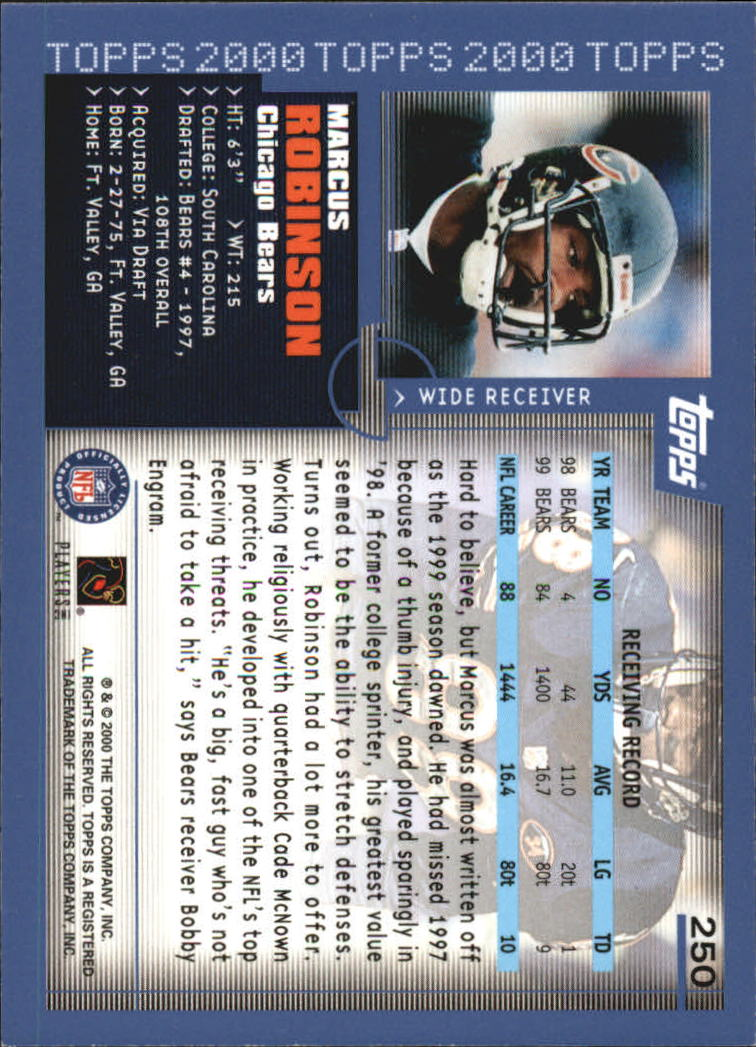 2000-Topps-Football-Base-Singles-3-299-Pick-Your-Cards thumbnail 347