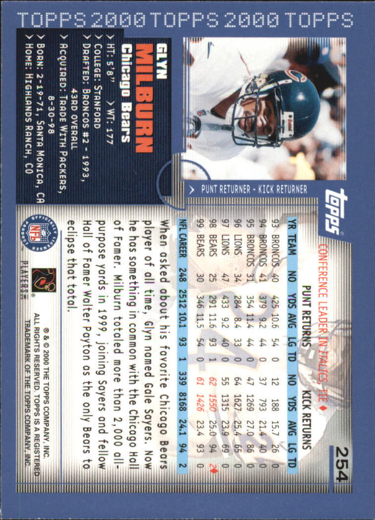 2000-Topps-Football-Base-Singles-3-299-Pick-Your-Cards thumbnail 353