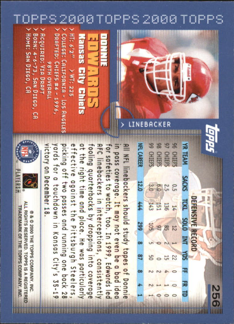 2000-Topps-Football-Base-Singles-3-299-Pick-Your-Cards thumbnail 355