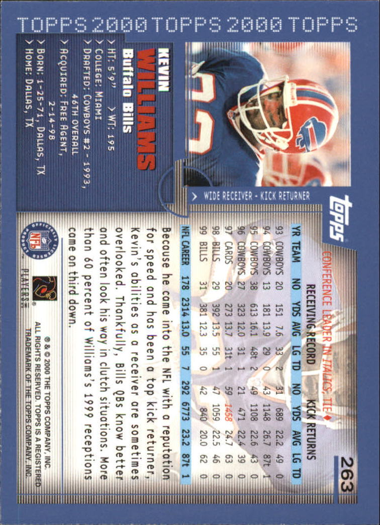 2000-Topps-Football-Base-Singles-3-299-Pick-Your-Cards thumbnail 363