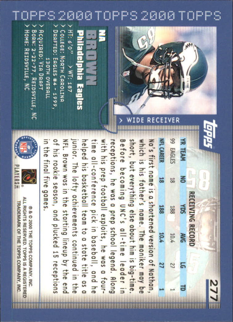 2000-Topps-Football-Base-Singles-3-299-Pick-Your-Cards thumbnail 377