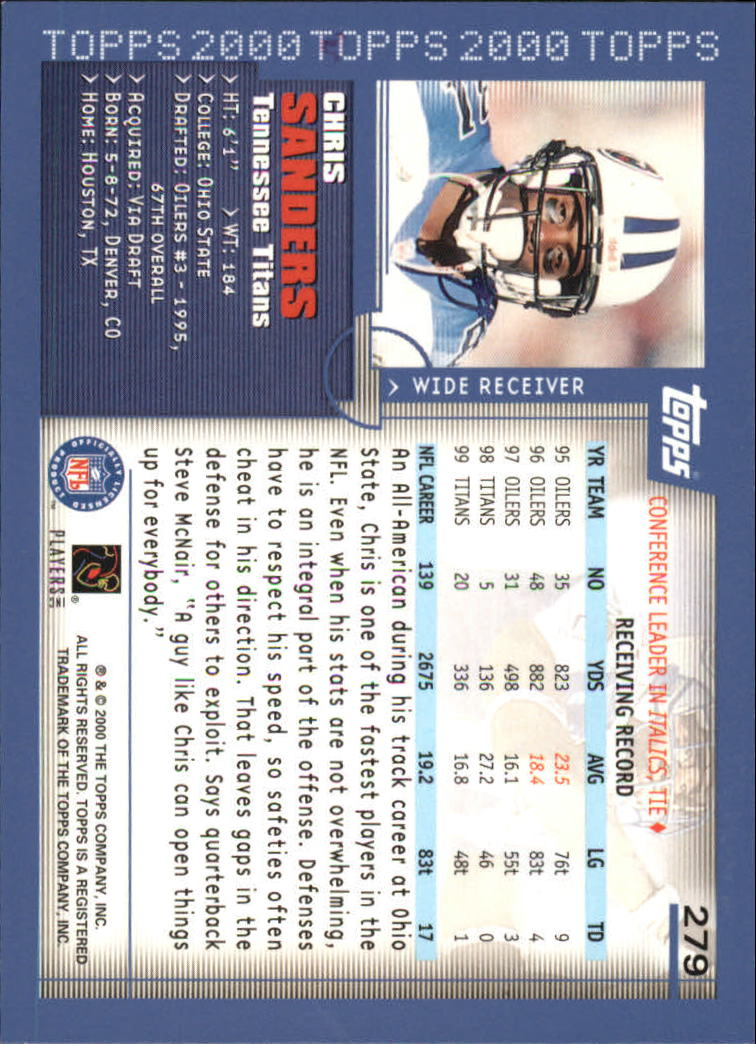 2000-Topps-Football-Base-Singles-3-299-Pick-Your-Cards thumbnail 381