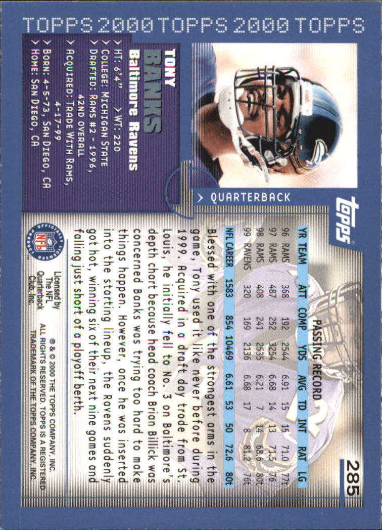 2000-Topps-Football-Base-Singles-3-299-Pick-Your-Cards thumbnail 391