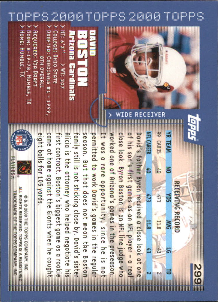 2000-Topps-Football-Base-Singles-3-299-Pick-Your-Cards thumbnail 403
