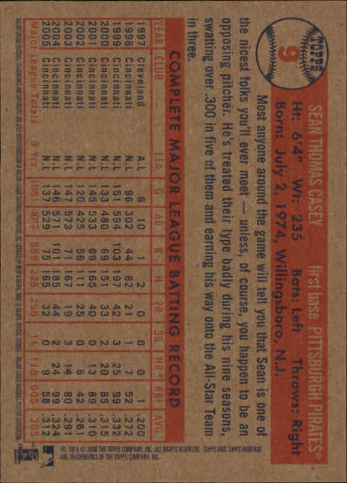 2006-Topps-Heritage-Baseball-Base-Singles-3-150-Pick-Your-Cards thumbnail 13