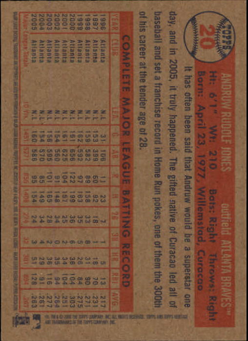 2006-Topps-Heritage-Baseball-Base-Singles-3-150-Pick-Your-Cards thumbnail 25