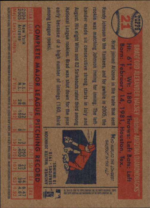 2006-Topps-Heritage-Baseball-Base-Singles-3-150-Pick-Your-Cards thumbnail 27