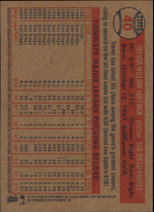 2006-Topps-Heritage-Baseball-Base-Singles-3-150-Pick-Your-Cards thumbnail 47