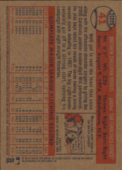 2006-Topps-Heritage-Baseball-Base-Singles-3-150-Pick-Your-Cards thumbnail 49