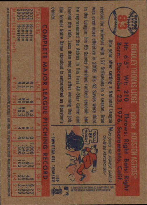 2006-Topps-Heritage-Baseball-Base-Singles-3-150-Pick-Your-Cards thumbnail 90