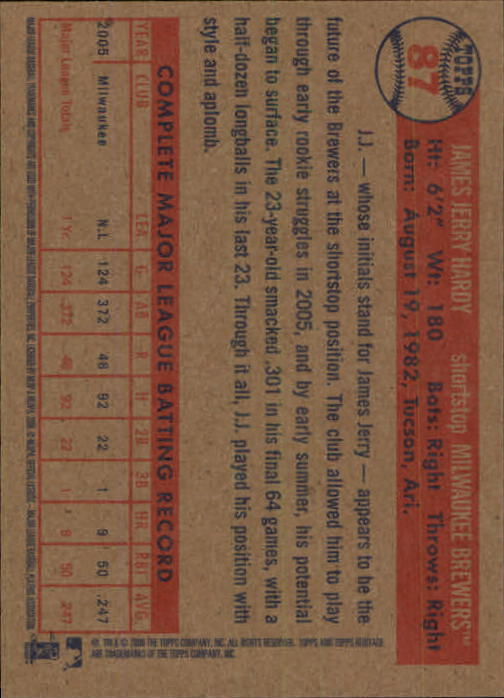 2006-Topps-Heritage-Baseball-Base-Singles-3-150-Pick-Your-Cards thumbnail 94