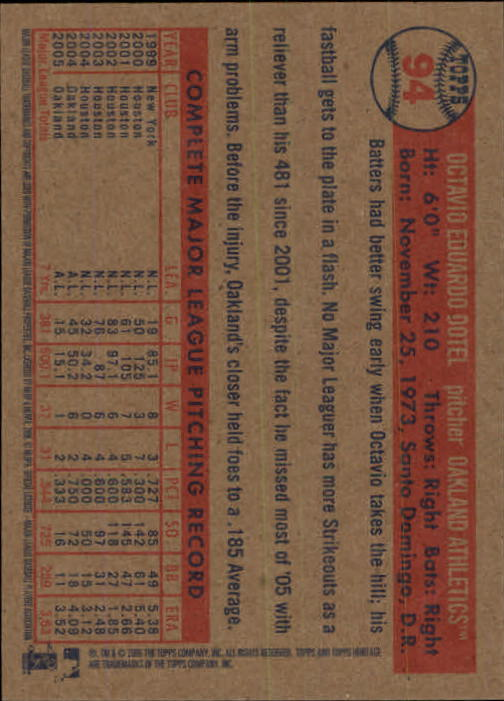 2006-Topps-Heritage-Baseball-Base-Singles-3-150-Pick-Your-Cards thumbnail 102