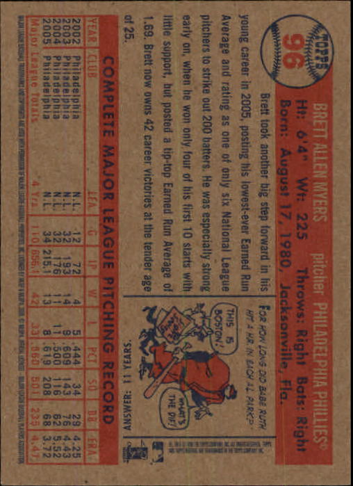 2006-Topps-Heritage-Baseball-Base-Singles-3-150-Pick-Your-Cards thumbnail 104