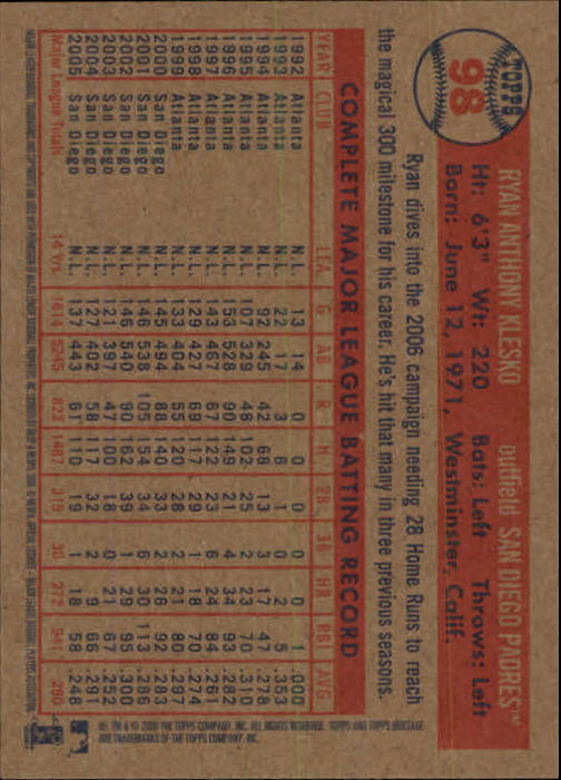2006-Topps-Heritage-Baseball-Base-Singles-3-150-Pick-Your-Cards thumbnail 108