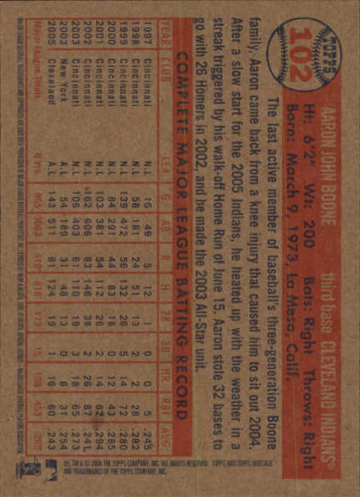 2006-Topps-Heritage-Baseball-Base-Singles-3-150-Pick-Your-Cards thumbnail 114