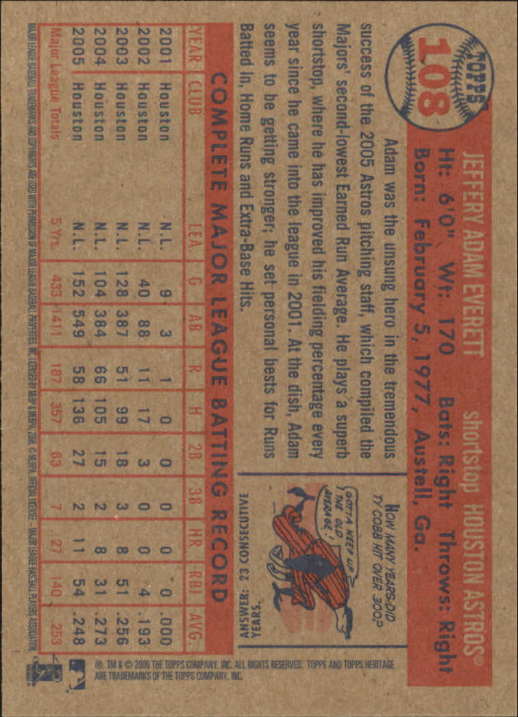 2006-Topps-Heritage-Baseball-Base-Singles-3-150-Pick-Your-Cards thumbnail 122