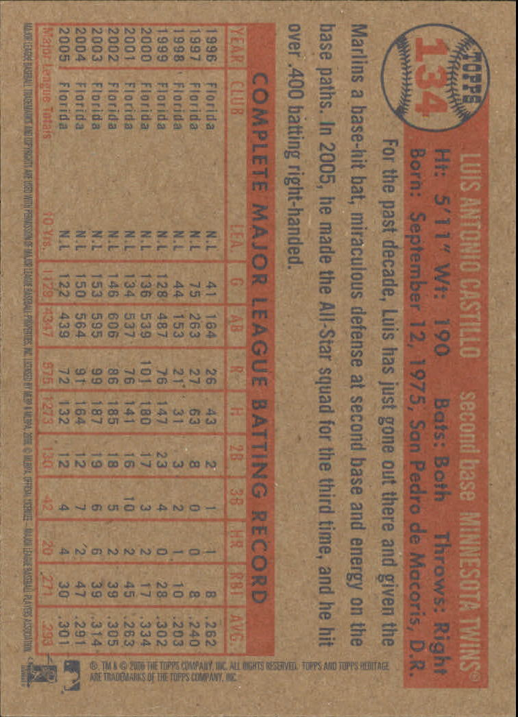 2006-Topps-Heritage-Baseball-Base-Singles-3-150-Pick-Your-Cards thumbnail 154