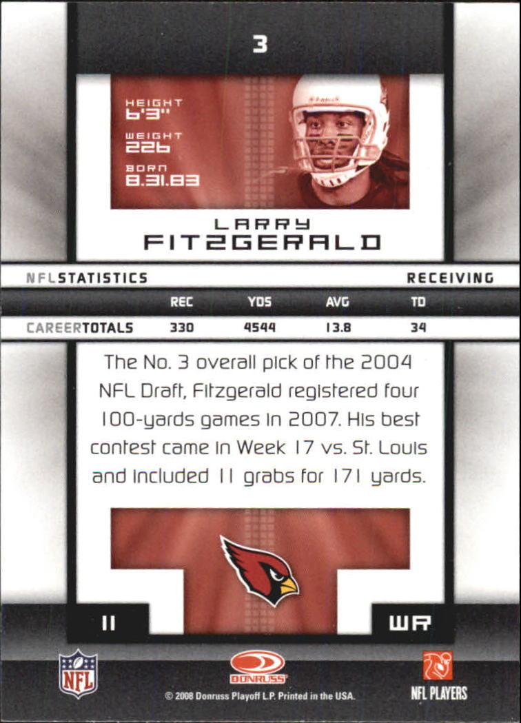 2008-Donruss-Elite-Football-Base-Singles-Pick-Your-Cards thumbnail 7