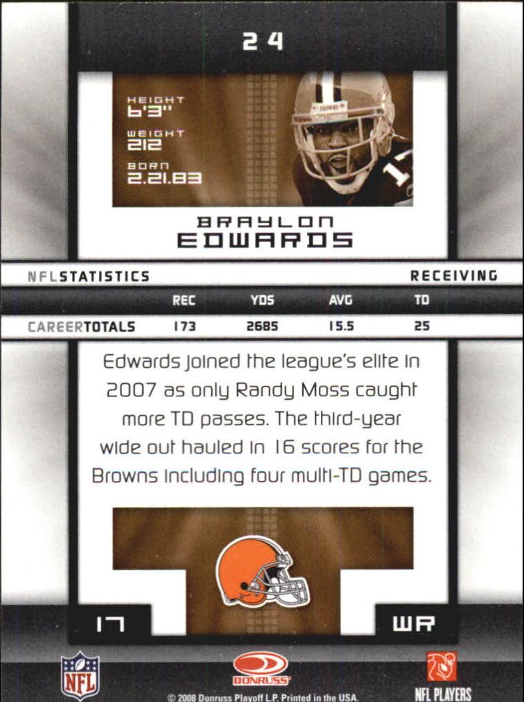 2008-Donruss-Elite-Football-Base-Singles-Pick-Your-Cards thumbnail 49