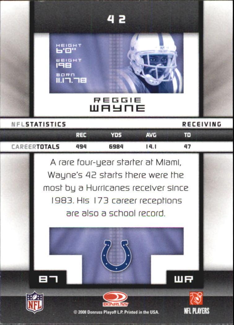 2008-Donruss-Elite-Football-Base-Singles-Pick-Your-Cards thumbnail 83