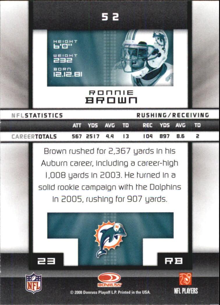 2008-Donruss-Elite-Football-Base-Singles-Pick-Your-Cards thumbnail 103