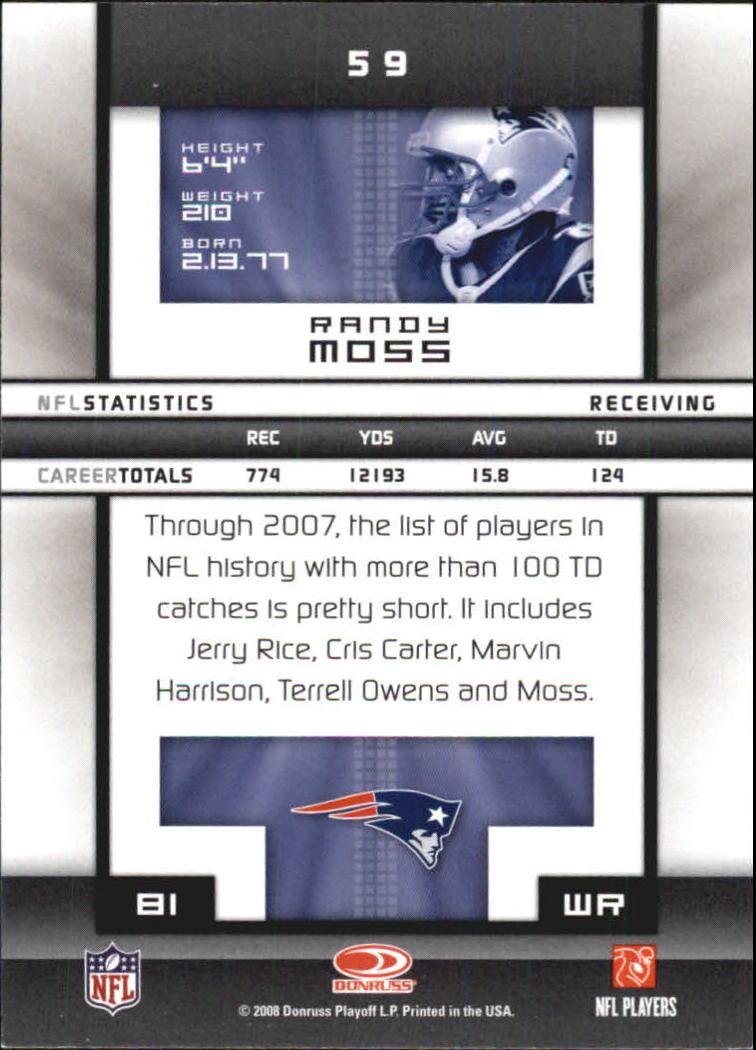 2008-Donruss-Elite-Football-Base-Singles-Pick-Your-Cards thumbnail 115