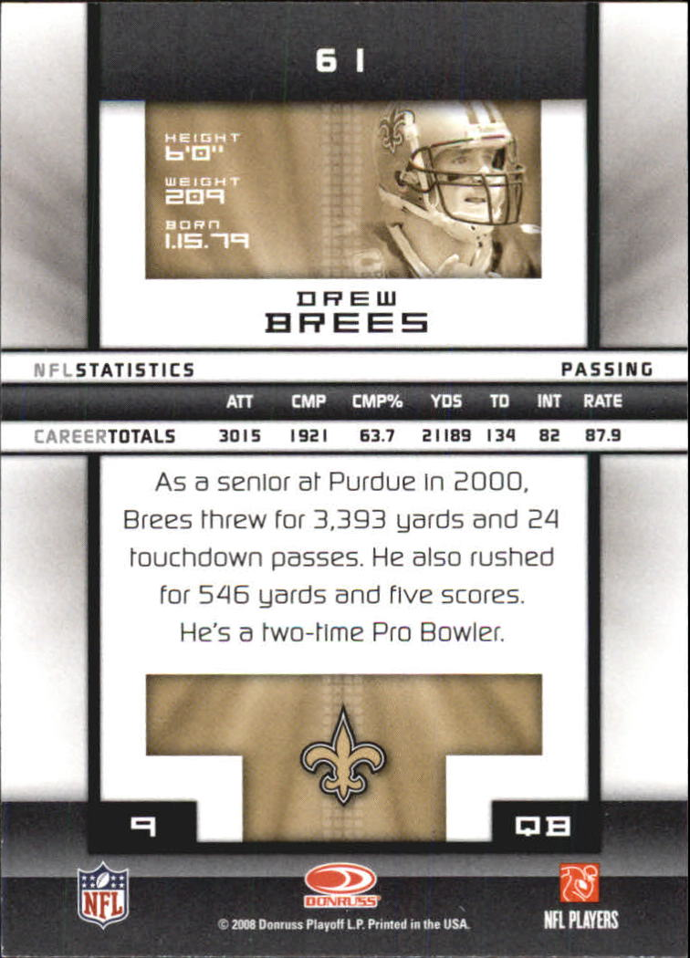 2008-Donruss-Elite-Football-Base-Singles-Pick-Your-Cards thumbnail 119