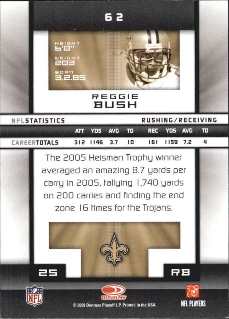 2008-Donruss-Elite-Football-Base-Singles-Pick-Your-Cards thumbnail 121