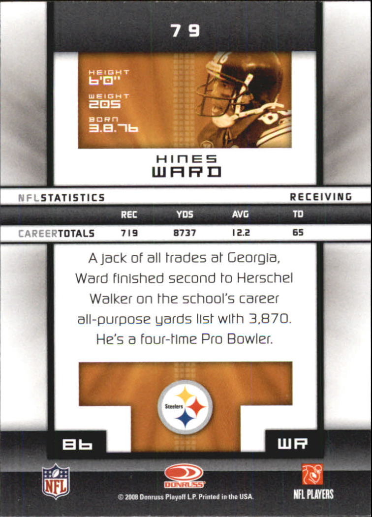 2008-Donruss-Elite-Football-Base-Singles-Pick-Your-Cards thumbnail 155