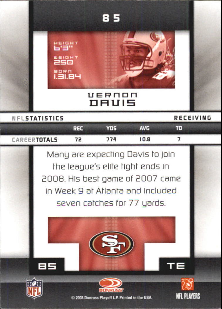 2008-Donruss-Elite-Football-Base-Singles-Pick-Your-Cards thumbnail 165