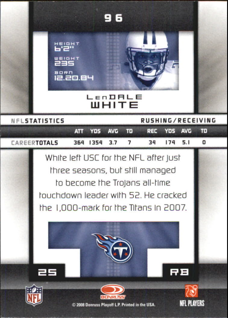 2008-Donruss-Elite-Football-Base-Singles-Pick-Your-Cards thumbnail 187