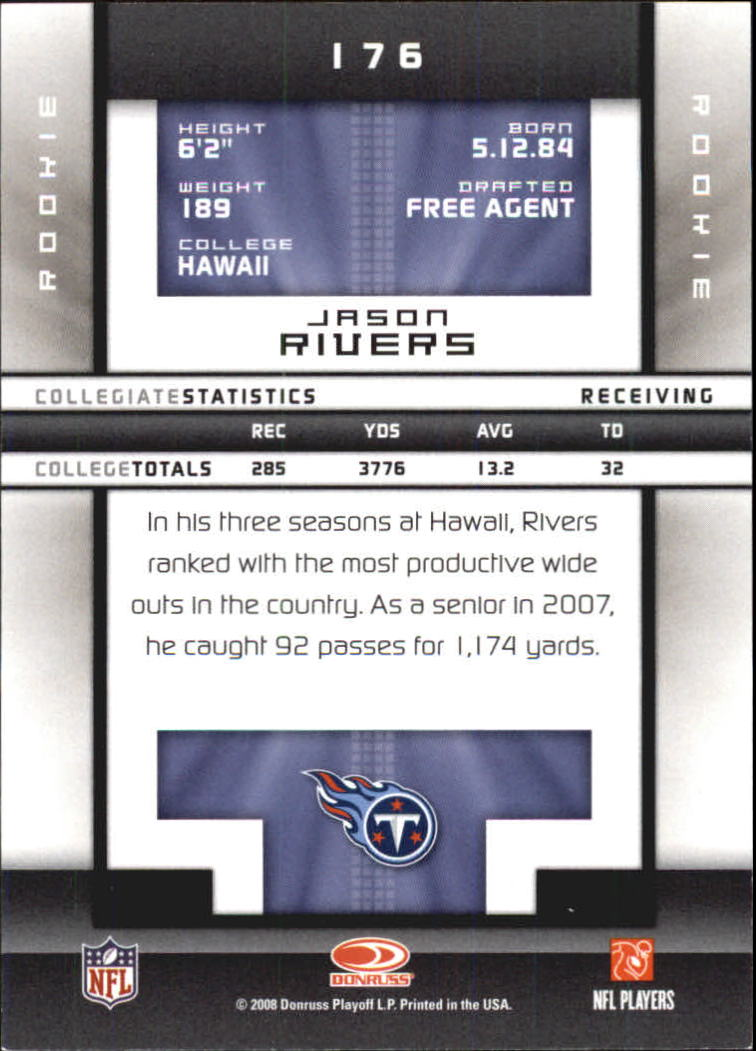 2008-Donruss-Elite-Football-Base-Singles-Pick-Your-Cards thumbnail 199