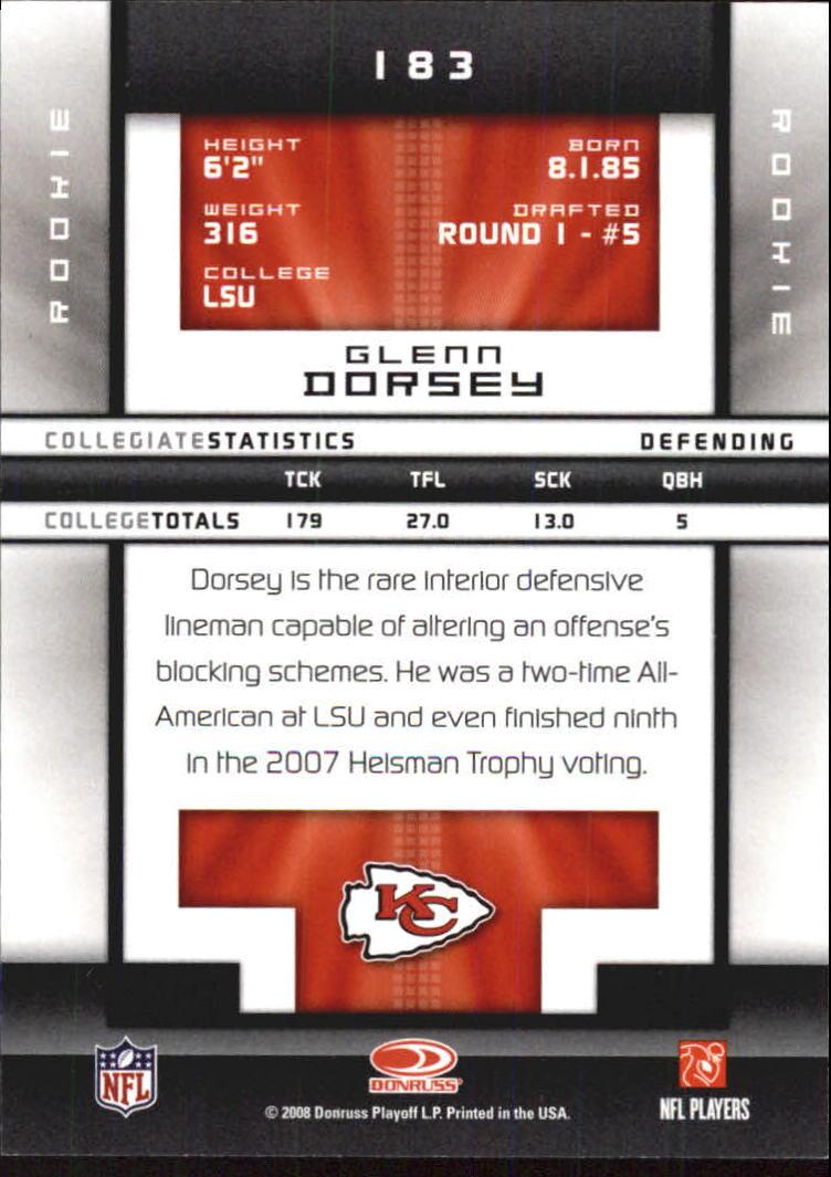 2008-Donruss-Elite-Football-Base-Singles-Pick-Your-Cards thumbnail 201