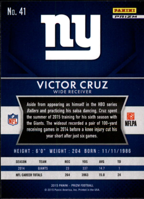 2015-Panini-Prizm-Football-Insert-Parallel-Singles-Pick-Your-Cards thumbnail 25
