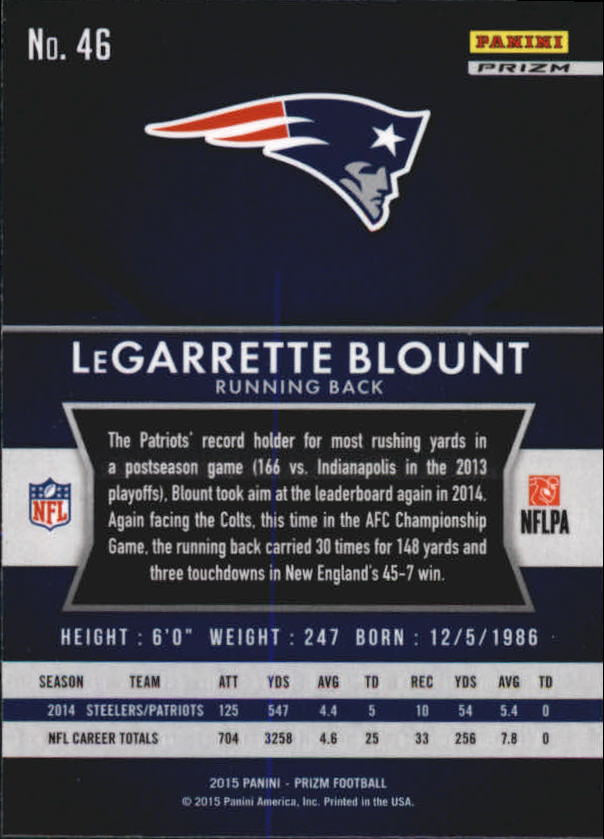 2015-Panini-Prizm-Football-Insert-Parallel-Singles-Pick-Your-Cards thumbnail 29