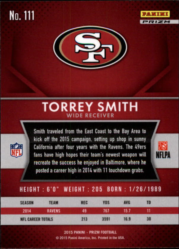2015-Panini-Prizm-Football-Insert-Parallel-Singles-Pick-Your-Cards thumbnail 47