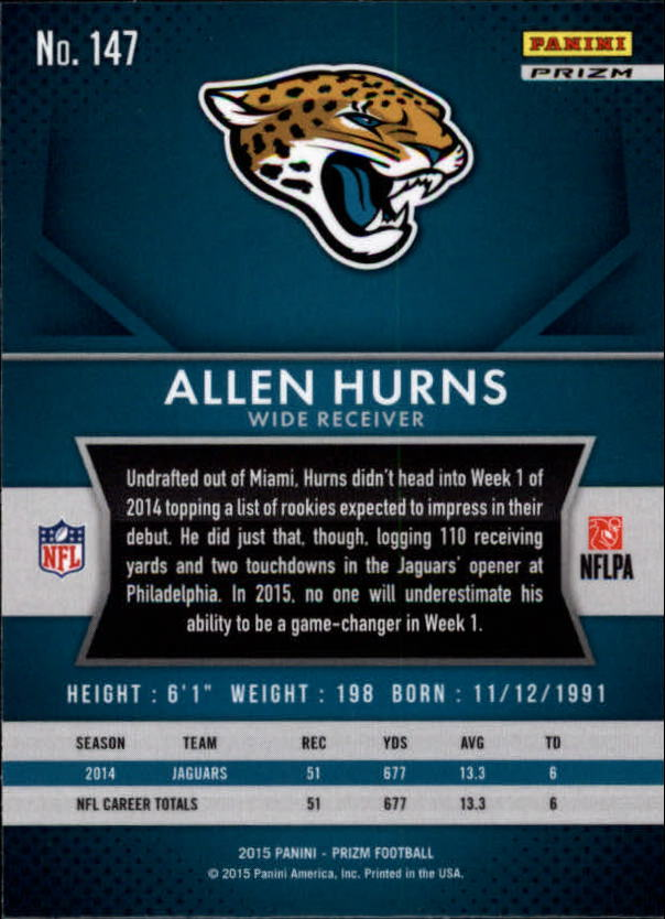 2015-Panini-Prizm-Football-Insert-Parallel-Singles-Pick-Your-Cards thumbnail 103